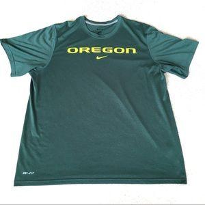 Nike University of Oregon Dri-Fit Short Sleeve-XL